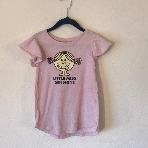 KIDS Little Miss Trouble Tshirt cotton